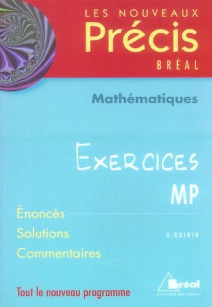 Nouveaux prcis de mathmatiques Exerices mp