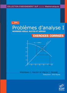 problm10Problemes danalyse tome1 Nombres Relles Suites et Sries 217x300 Problemes danalyse tome1   Nombres Relles, Suites et Sries Exercices Corrigs